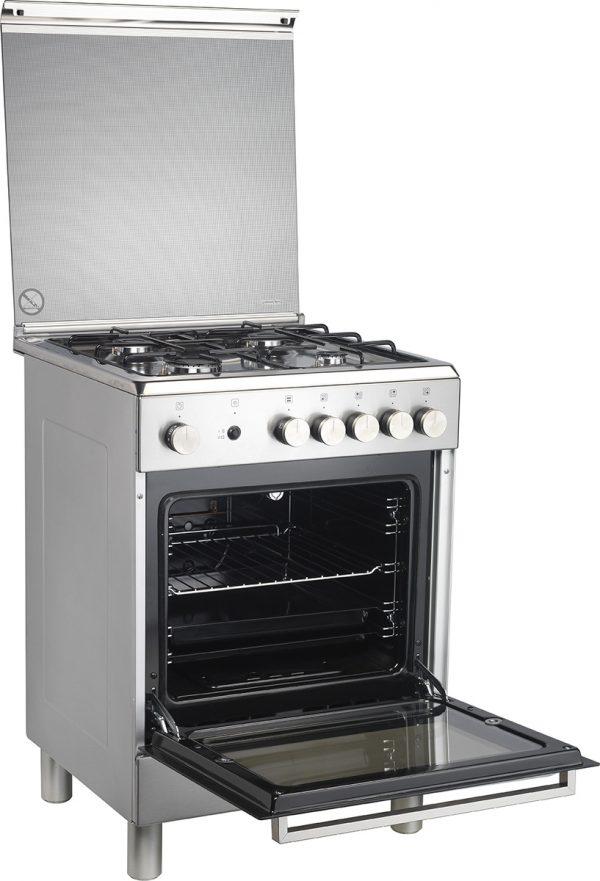 LA GERMANIA TU6 40 31 D X GPL Κουζίνα αερίου Inox